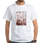 Crumbling Castle White T-Shirt