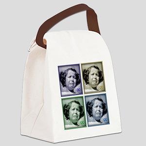 qq_final Canvas Lunch Bag