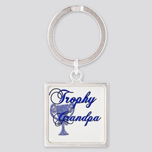 trophy grandpa Square Keychain