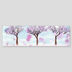 Sakurama - Cherry trees Sticker (Bumper)