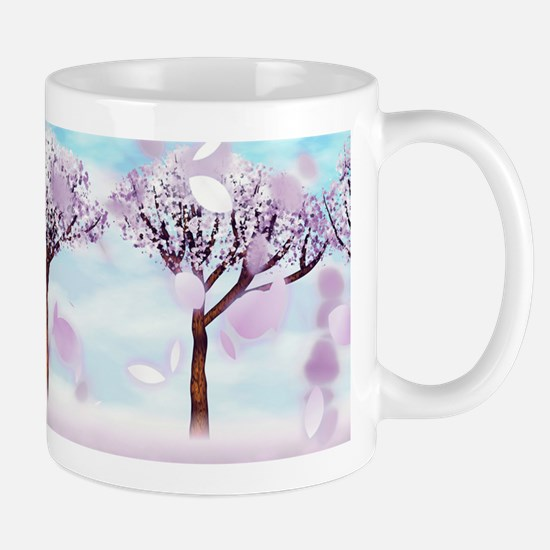 Sakurama - Cherry trees Mug