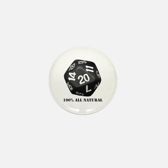 D20 Mini Button