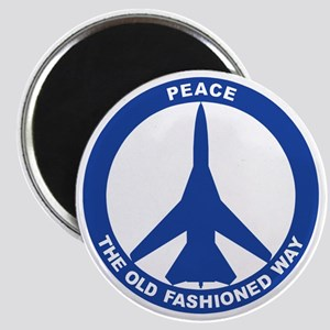 2-Peace The Old Fashioned Way - FB-111 Blue Magnet