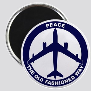 Peace The Old Fashioned Way - B-47 Magnet