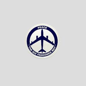 Peace The Old Fashioned Way - B-47 Mini Button