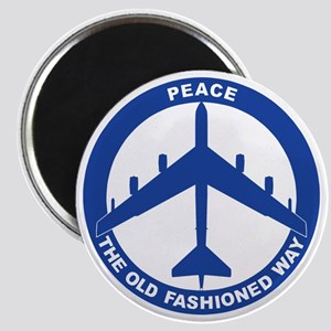 2-Peace The Old Fashioned Way - B-52G Blue Magnet