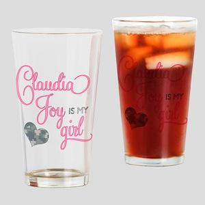 RoxyisMyGirl_ClaudiaJoy Drinking Glass
