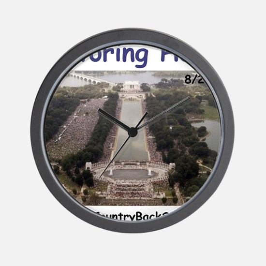 beck1 Wall Clock