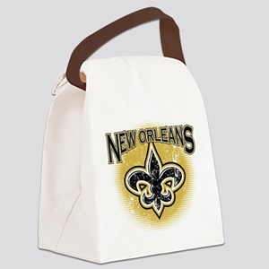 New Orleans Team Canvas Lunch Bag