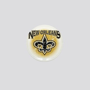 New Orleans Team Mini Button