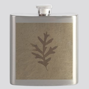 featherLobeOak Flask