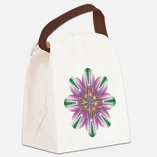 FLOWERS-1 copy Canvas Lunch Bag