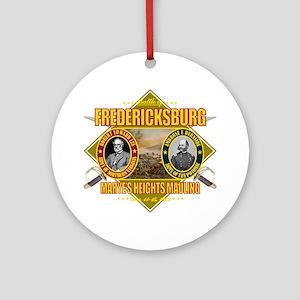 Fredericksburg (battle)1 Round Ornament