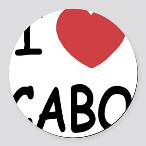 CABO Round Car Magnet