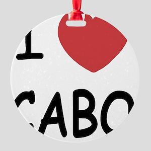 CABO Round Ornament