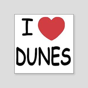 "DUNES Square Sticker 3"" x 3"""
