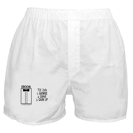 Groom To Do Boxer Shorts