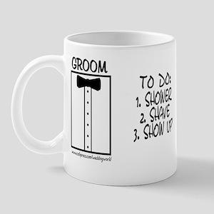 Groom To Do Mug