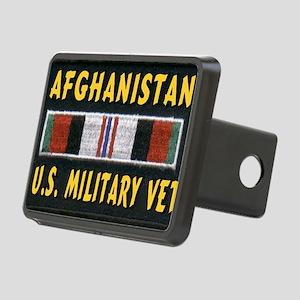 AFGHANISTAN VET Rectangular Hitch Cover