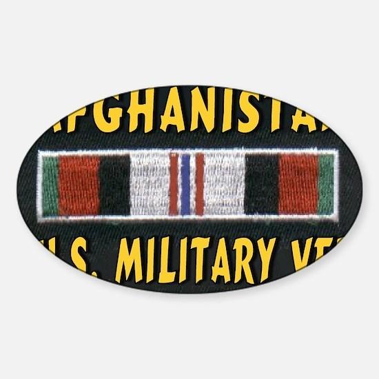 AFGHANISTAN VET Sticker (Oval)