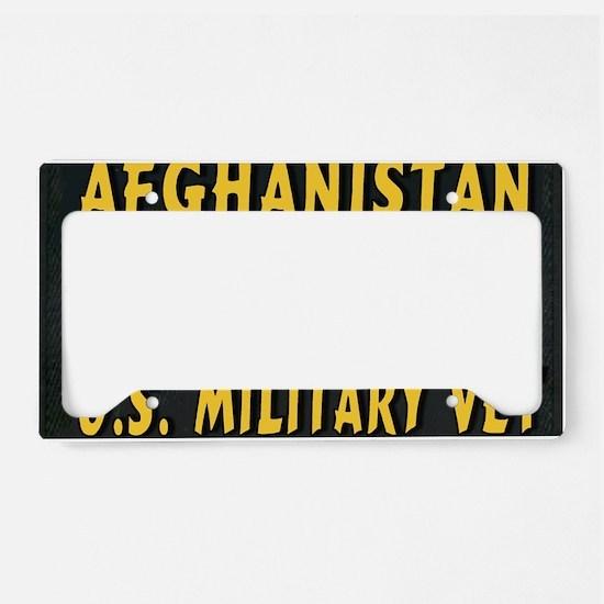 AFGHANISTAN VET License Plate Holder