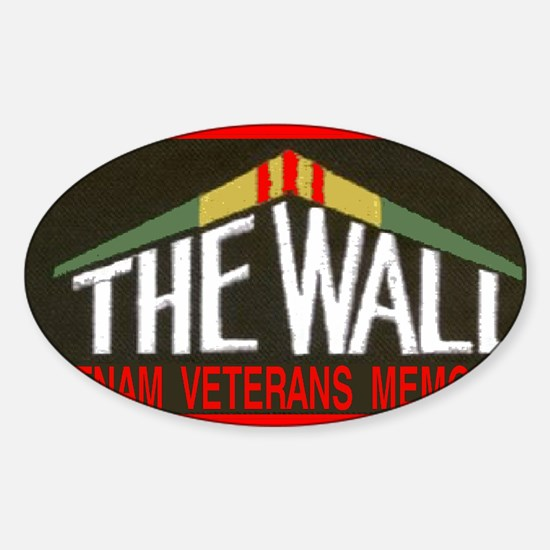 THE WALLPATCH Sticker (Oval)