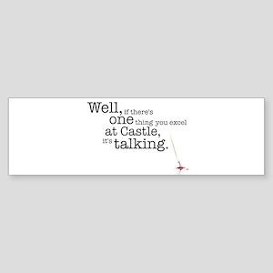 Talking Bumper Sticker