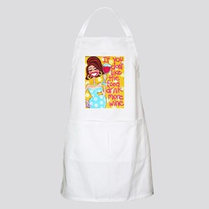 Wine Goddess BBQ Apron