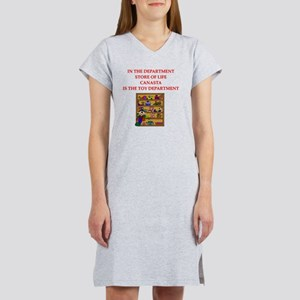 canasta player gifts Women's Nightshirt