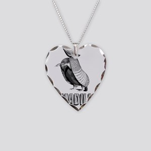 armadillostanding Necklace Heart Charm