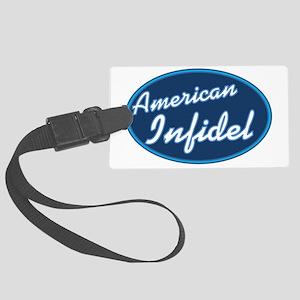 American Infidel Large Luggage Tag