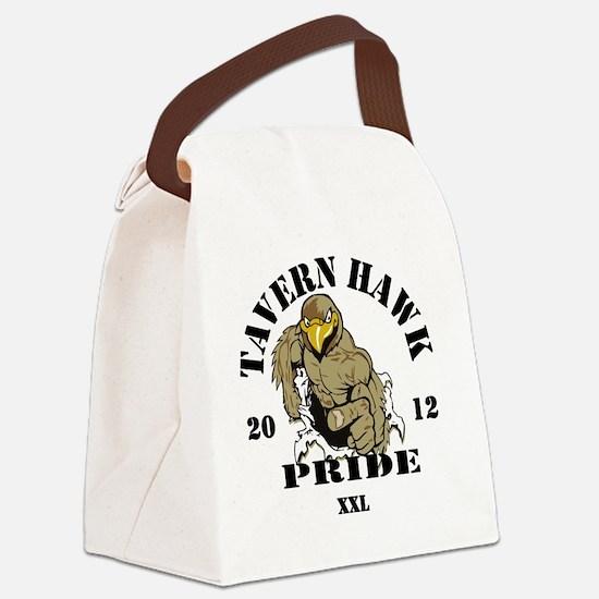 1BLACK Canvas Lunch Bag