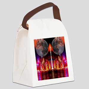 twinmoons Canvas Lunch Bag