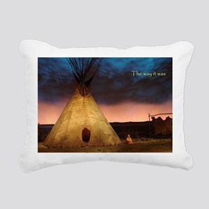teepee Rectangular Canvas Pillow