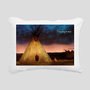teepee Rectangular Canvas Pillow