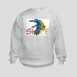 SkateBoard Kids Sweatshirt
