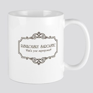 Fabulously Sarcastic Large Mugs