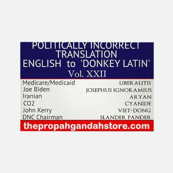 'Donkey Latin' Vol. 22 Magnets