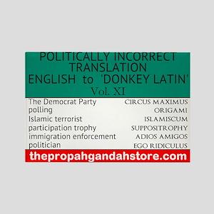 'Donkey Latin' Vol. 11 Magnets