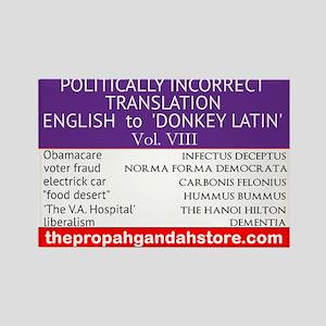 'Donkey Latin' Vol. 8 Magnets