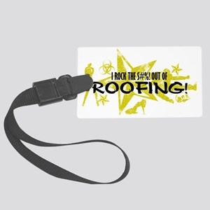 ROOFING Large Luggage Tag