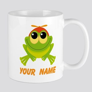 Personalized Frog Lover Mugs