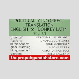 'Donkey Latin' Vol. 6 Magnets