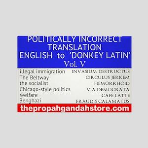 'Donkey Latin' Vol. 5 Magnets