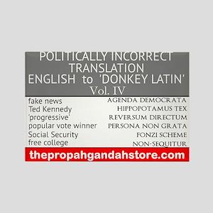 'Donkey Latin' Vol. 4 Magnets