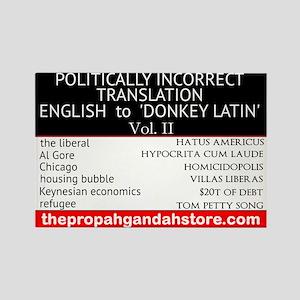'Donkey Latin' Vol. 2 Magnets