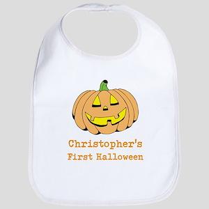 Babys 1st Halloween Baby Bib