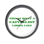 Capitalist Wall Clock