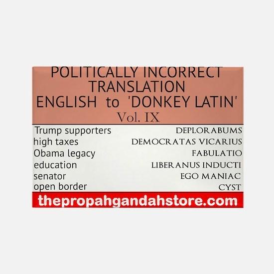 'Donkey Latin' Vol. 9 Magnets