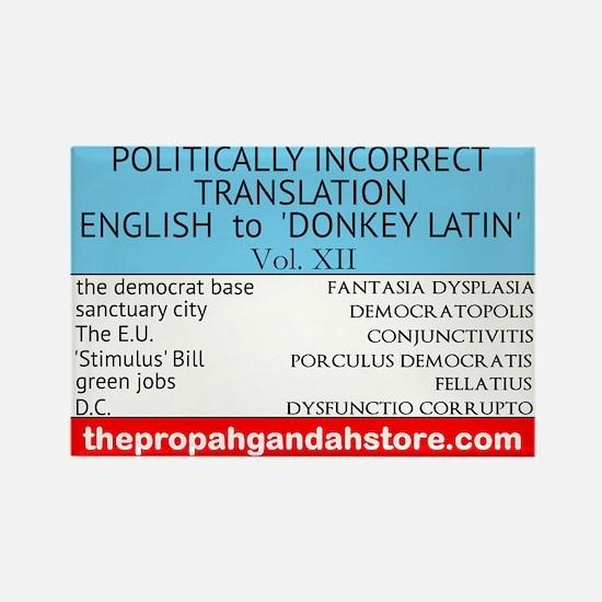 'Donkey Latin' Vol. 12 Magnets